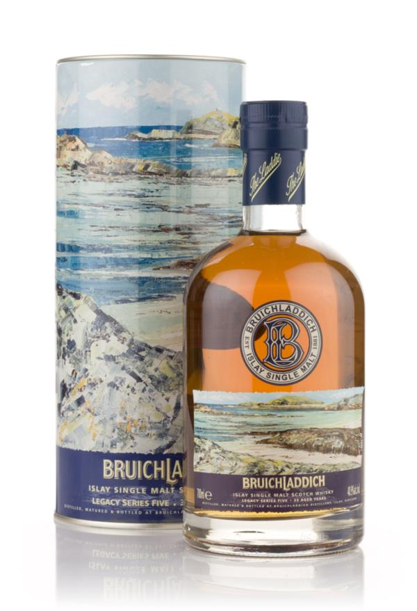 Bruichladdich 33 Year Old 1973 - Legacy Series 5 Single Malt Whisky