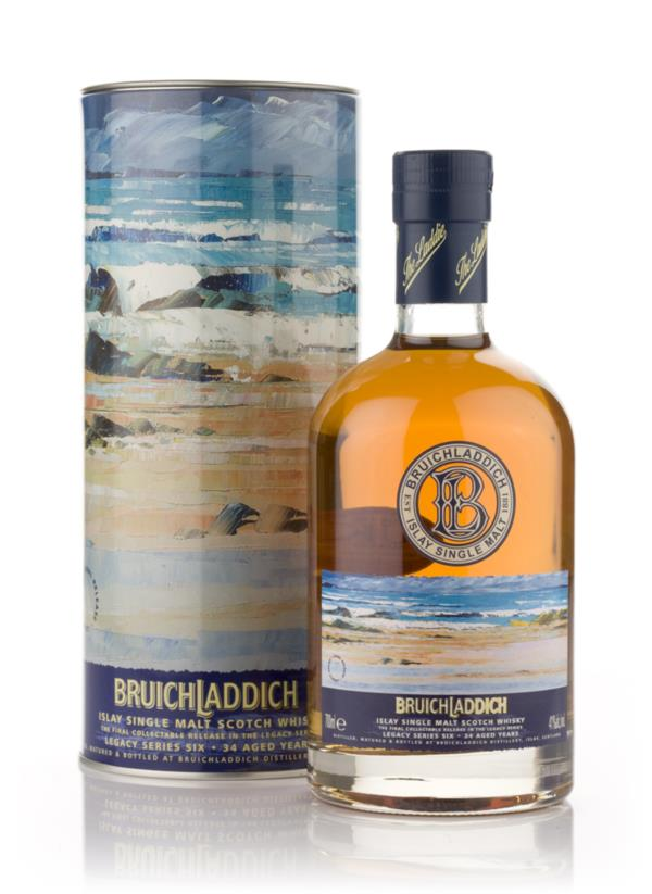 Bruichladdich 34 Year Old 1972 - Legacy Series 6 Single Malt Whisky