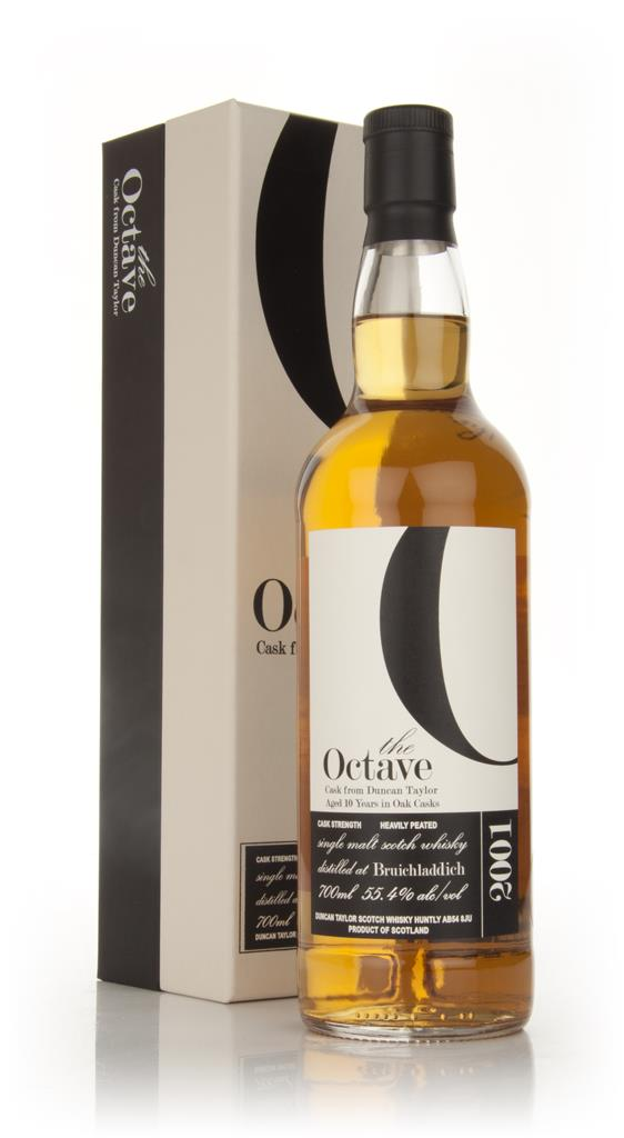 Bruichladdich 10 Year Old 2001 Heavily Peated - The Octave (Duncan Tay Single Malt Whisky