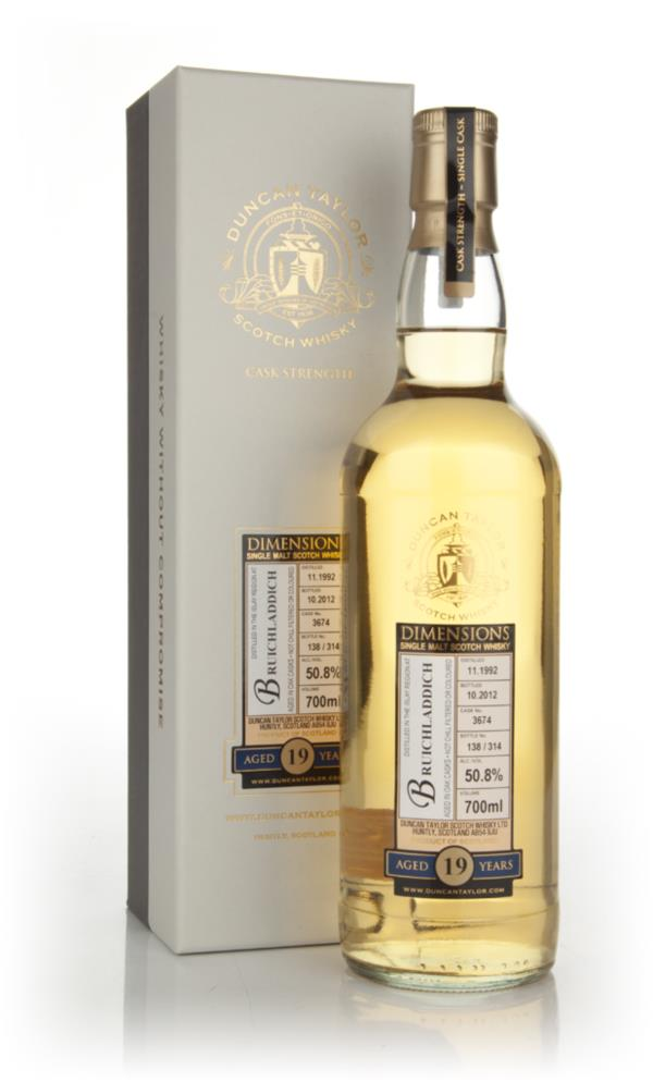 Bruichladdich 19 Year Old 1992 - Dimensions (Duncan Taylor) Single Malt Whisky
