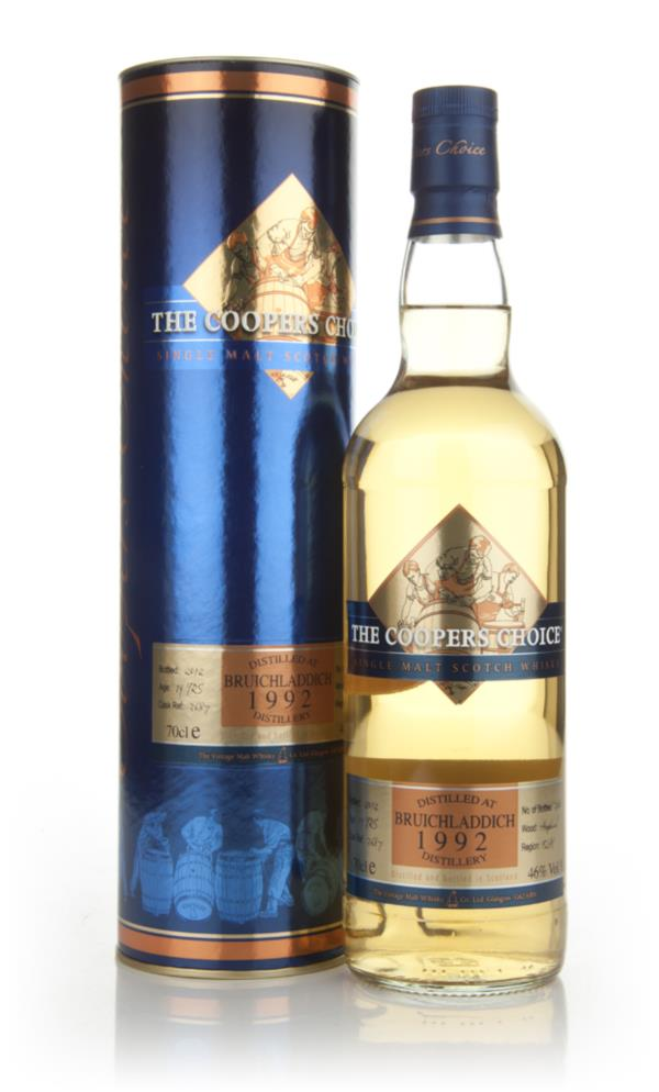Bruichladdich 19 Year Old 1992 - The Coopers Choice Single Malt Whisky