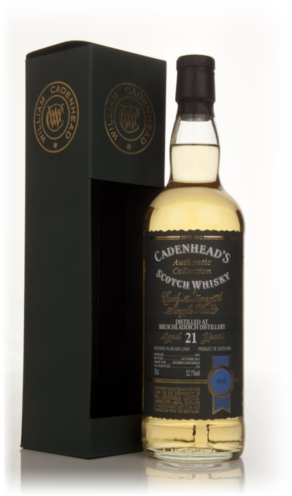 Bruichladdich 21 Year Old 1991 - Authentic Collection (WM Cadenhead) Single Malt Whisky