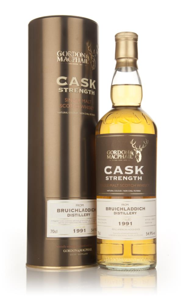 Bruichladdich 1991 (casks 2778+2779) - Cask Strength (Gordon and MacPh Single Malt Whisky