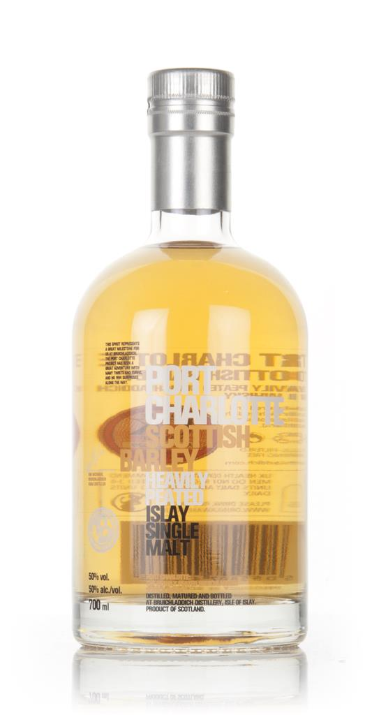 Port Charlotte Scottish Barley - Heavily Peated Single Malt Whisky