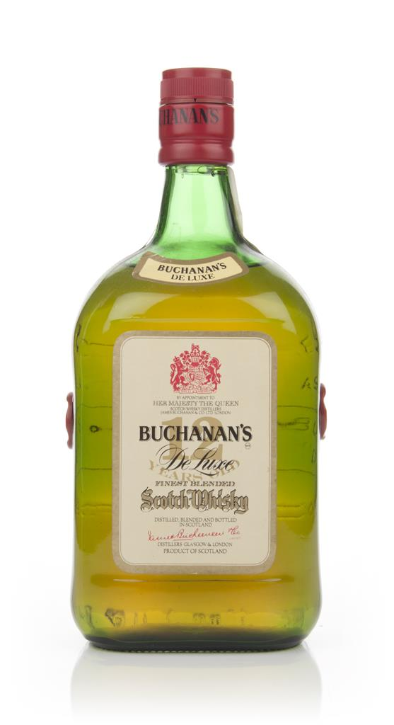 James Buchanan's De Luxe 12 Year Old - 1970s Blended Whisky