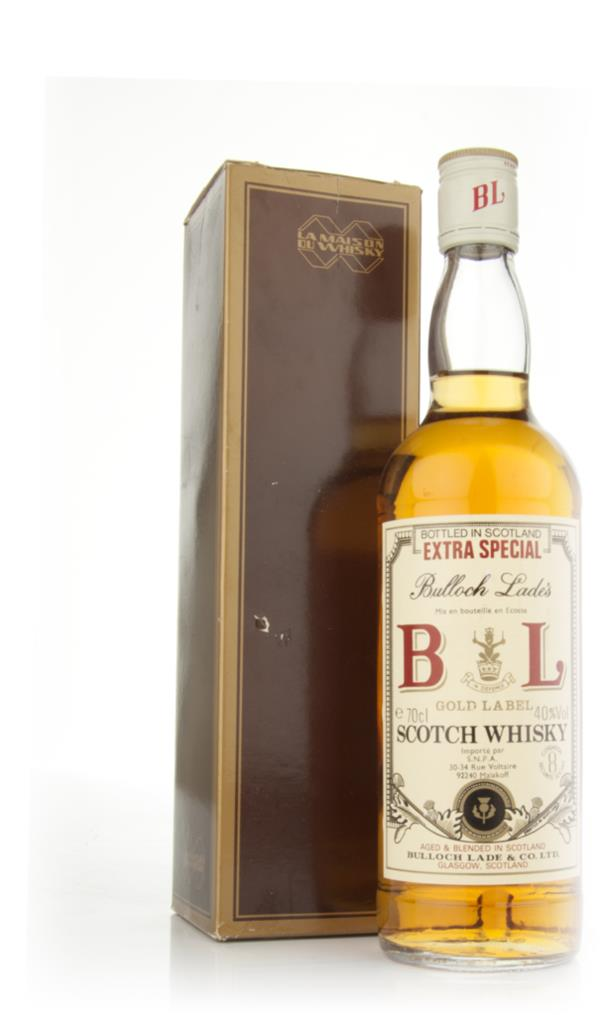Bulloch Lades Extra Special Gold Label Scotch Whisky - 1970s Blended Whisky