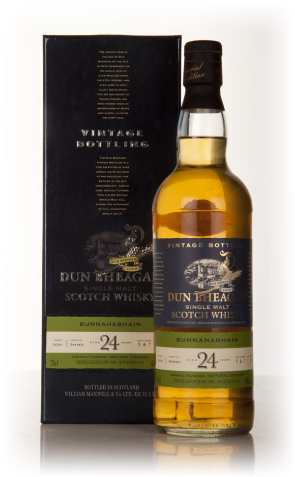 Bunnahabhain 24 Year Old 1985 - Dun Bheagan (Ian MacLeod) Single Malt Whisky