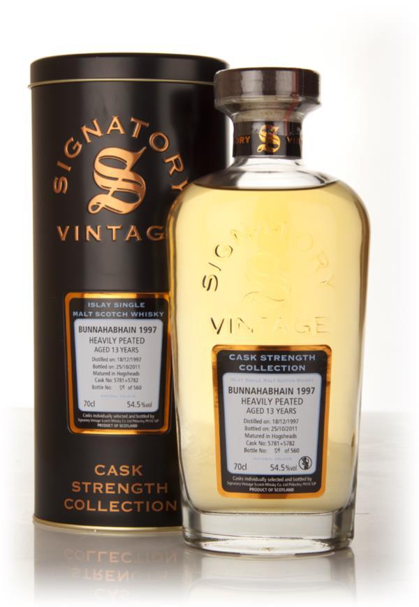 Bunnahabhain 13 Year Old 1997 Casks 5781 + 5782 - Cask Strength Collec Single Malt Whisky