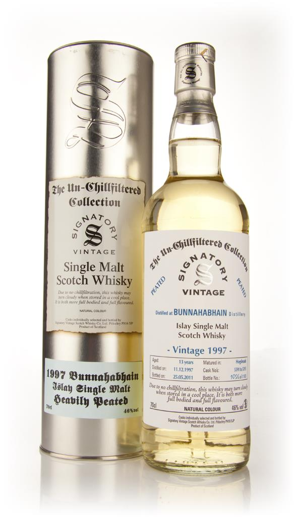 Bunnahabhain 13 Year Old 1997 Heavily Peated - Un-Chillfiltered (Signa Single Malt Whisky