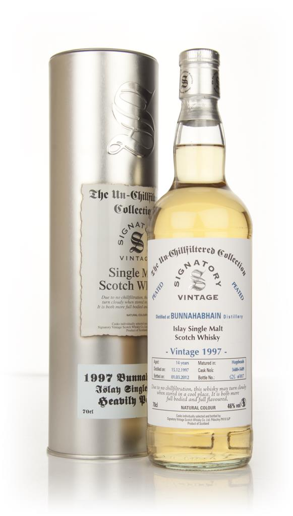 Bunnahabhain 14 Year Old 1997 - Heavily Peated - Un-Chillfiltered (Sig Single Malt Whisky