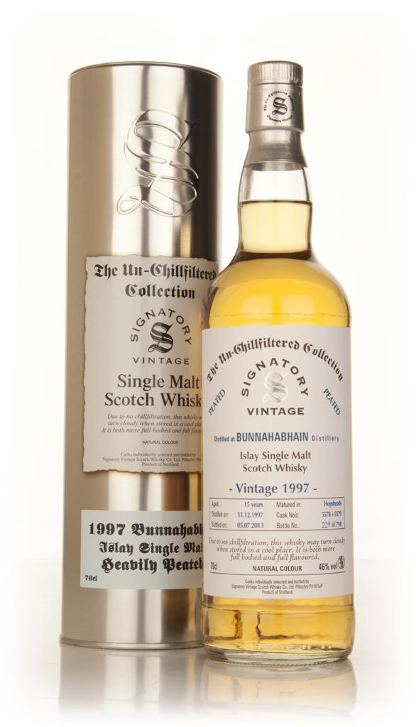 Bunnahabhain 15 Year Old 1997 (casks 5578+5579) - Un-Chillfiltered (Si Single Malt Whisky