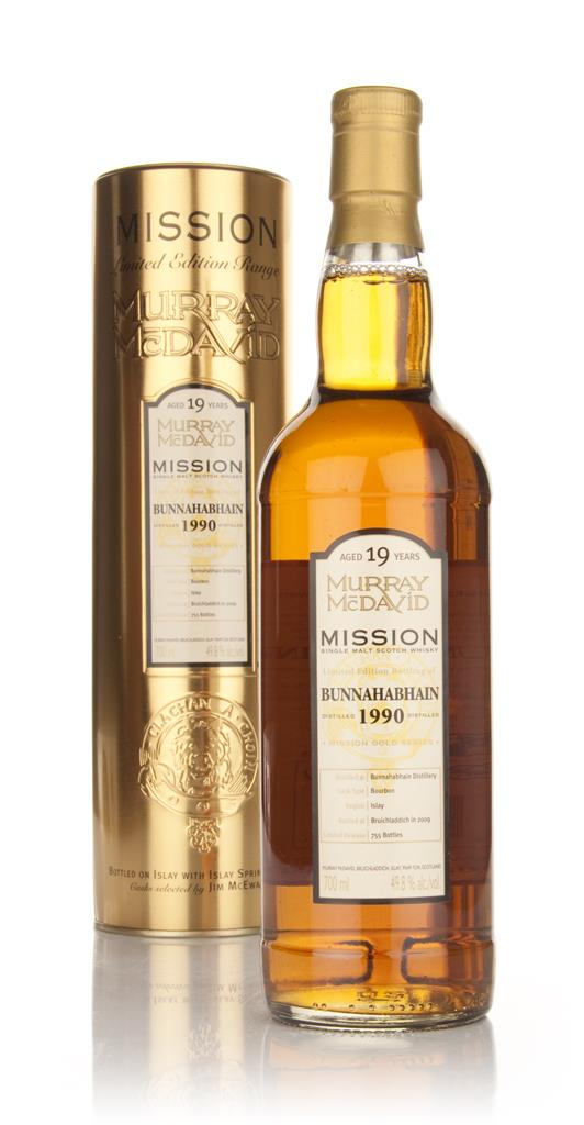 Bunnahabhain 19 Year Old 1990 - Mission (Murray McDavid) Single Malt Whisky