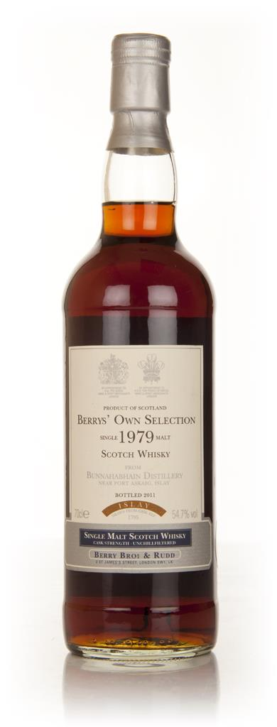 Bunnahabhain 1979 (Berry Brothers and Rudd) Single Malt Whisky