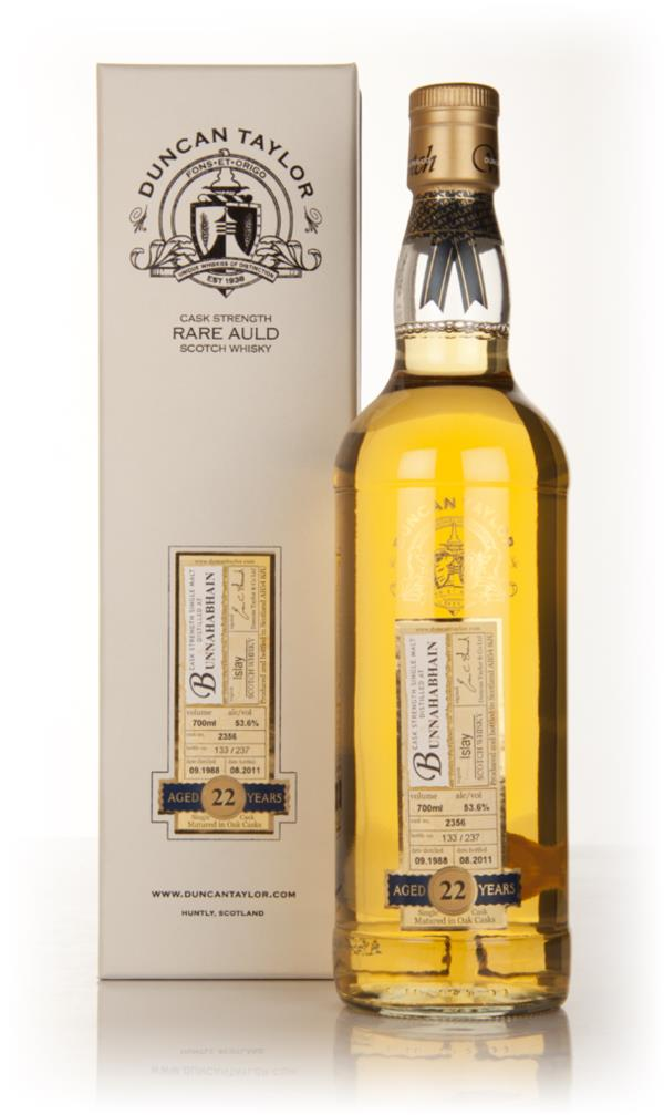 Bunnahabhain 22 Year Old 1988 - Rare Auld (Duncan Taylor) Single Malt Whisky