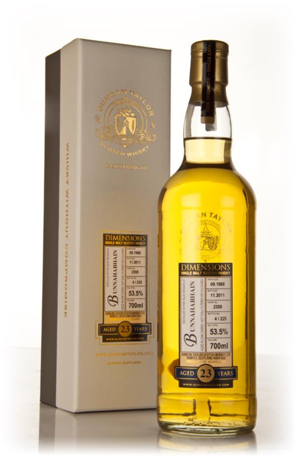 Bunnahabhain 23 Year Old 1988 - Dimensions (Duncan Taylor) Single Malt Whisky
