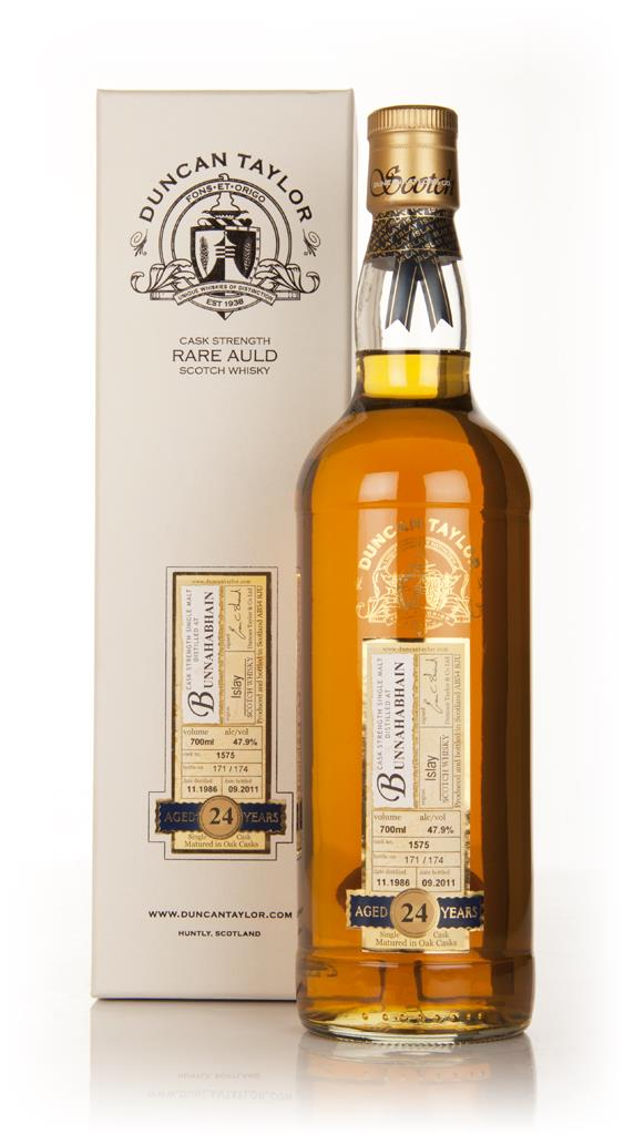 Bunnahabhain 24 Year Old 1986 - Rare Auld (Duncan Taylor) Single Malt Whisky