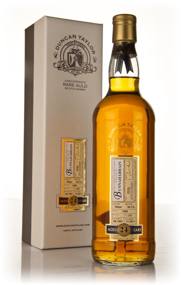 Bunnahabhain 24 Year Old 1987 - Rare Auld (Duncan Taylor) Single Malt Whisky