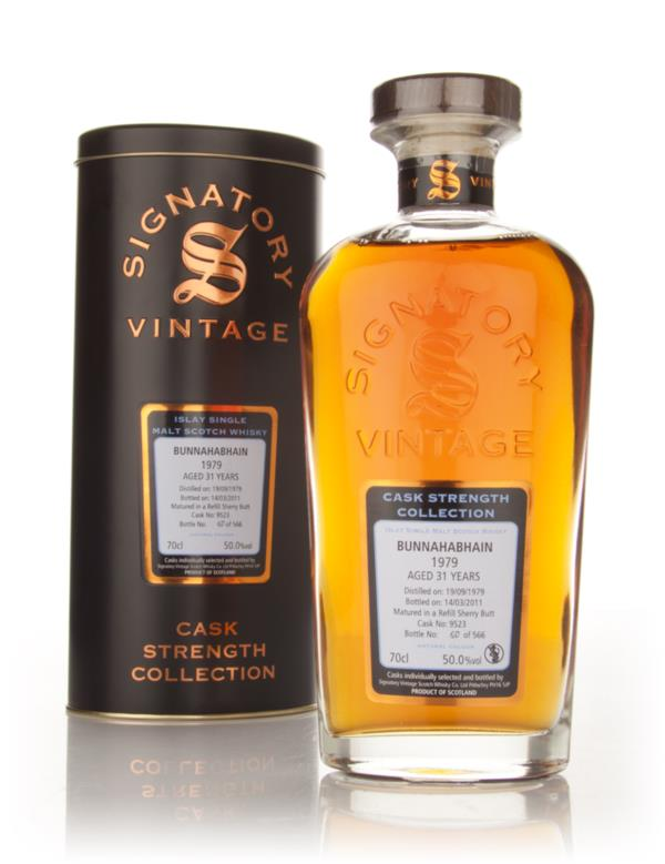Bunnahabhain 31 Year Old 1979 Cask 9523 - Cask Strength Collection (Si Single Malt Whisky