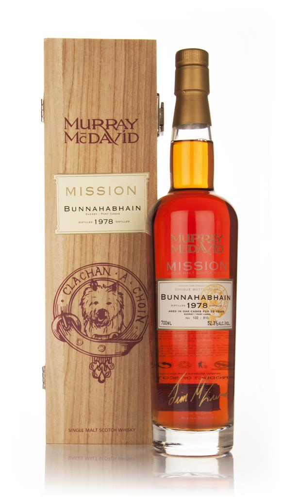 Bunnahabhain 32 Year Old 1978 - Mission (Murray McDavid) Single Malt Whisky