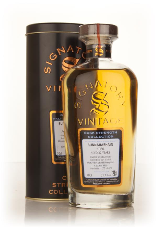 Bunnahabhain 32 Year Old 1980 (cask 4390) - Cask Strength Collection ( Single Malt Whisky