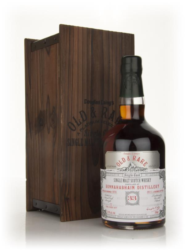 Bunnahabhain 33 Year Old 1978 - Old & Rare (Douglas Laing) Single Malt Whisky