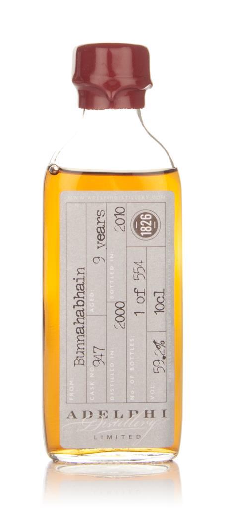Bunnahabhain 9 Year Old 2000 (Adelphi) 10cl Single Malt Whisky
