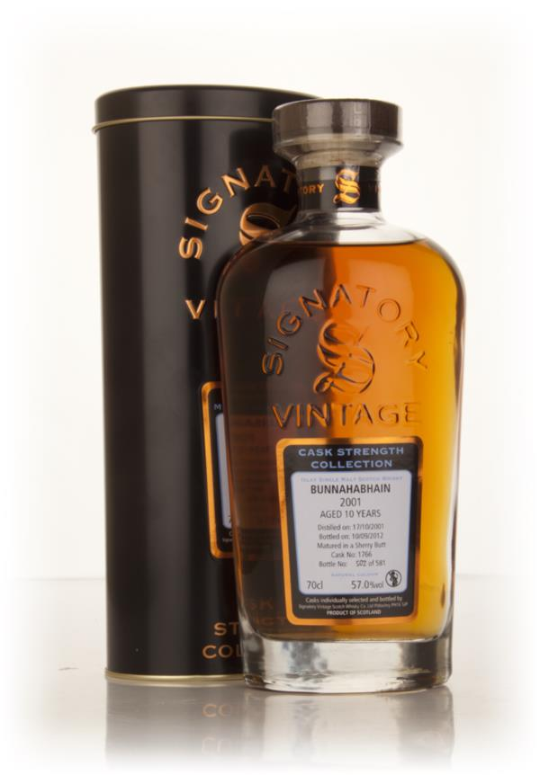 Bunnahabhain 10 Year Old 2001 (cask 1766) - Cask Strength Collection ( Single Malt Whisky