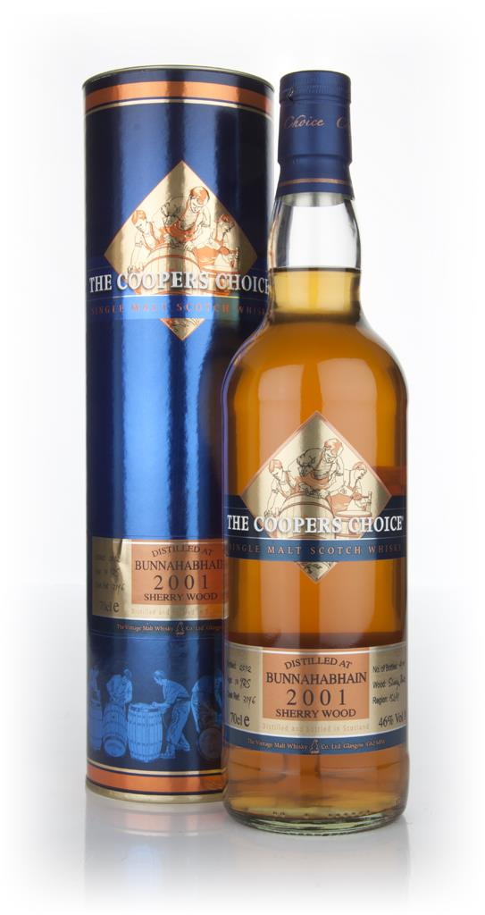 Bunnahabhain 10 Year Old 2001  - Coopers Choice (Vintage Malt Whisky C Single Malt Whisky