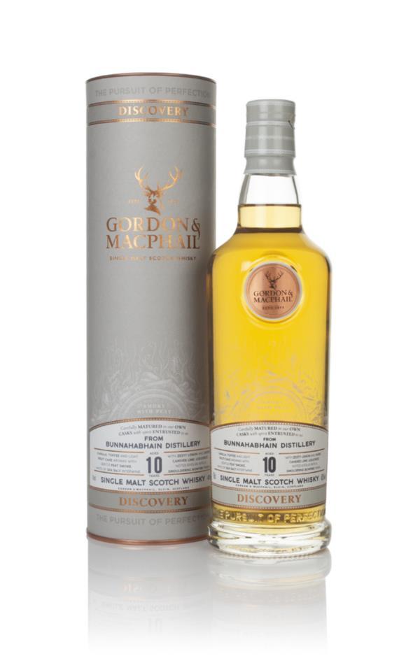 Bunnahabhain 10 Year Old - Discovery (Gordon & MacPhail) Single Malt Whisky