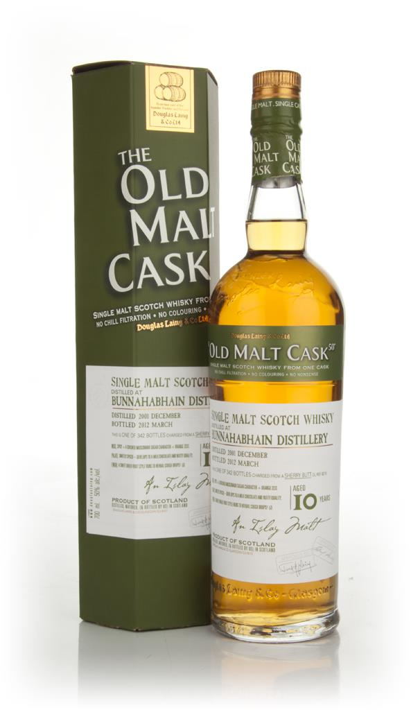 Bunnahabhain 10 Years Old 2001 - Old Malt Cask (Douglas Laing) Single Malt Whisky