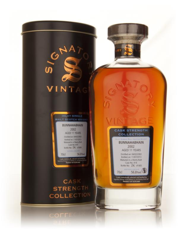 Bunnahabhain 11 Year Old 2002 (cask 419) - Cask Strength Collection (S Single Malt Whisky