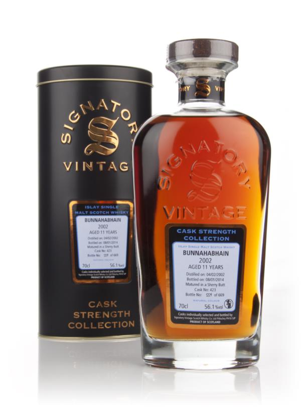Bunnahabhain 11 Year Old 2002 (cask 423) - Cask Strength Collection (S Single Malt Whisky