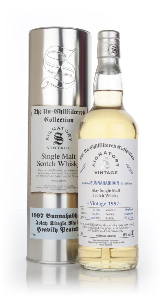 Bunnahabhain 15 Year Old 1997 Heavily Peated - Un-Chillfiltered (Signa Single Malt Whisky