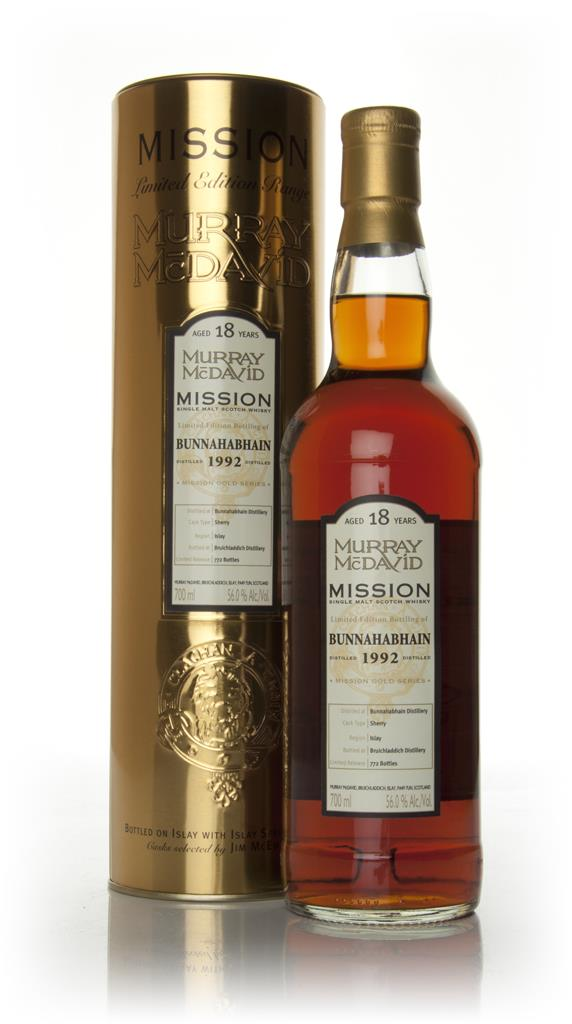 Bunnahabhain 18 Year Old 1992 - Mission (Murray McDavid) Single Malt Whisky