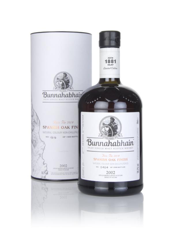 Bunnahabhain 2002 Spanish Oak Finish - Feis Ile 2018 3cl Sample Single Malt Whisky