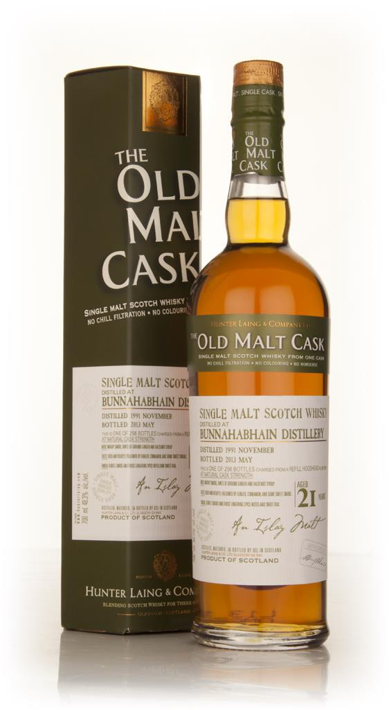 Bunnahabhain 21 Year Old 1991 (cask 9819) - Old Malt Cask (Hunter Lain Single Malt Whisky