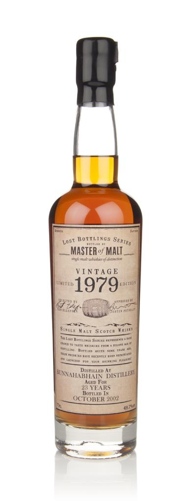 Bunnahabhain 23 Year Old 1979 - Lost Bottlings Series (Master of Malt) Single Malt Whisky