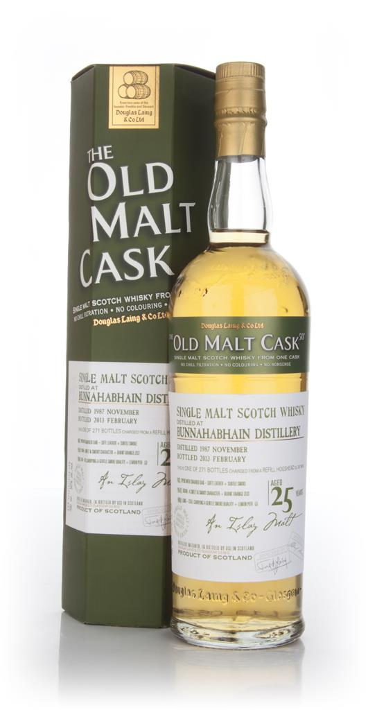 Bunnahabhain 25 Year Old 1987 (cask 9516) -  Old Malt Cask (Douglas La Unknown Whisky