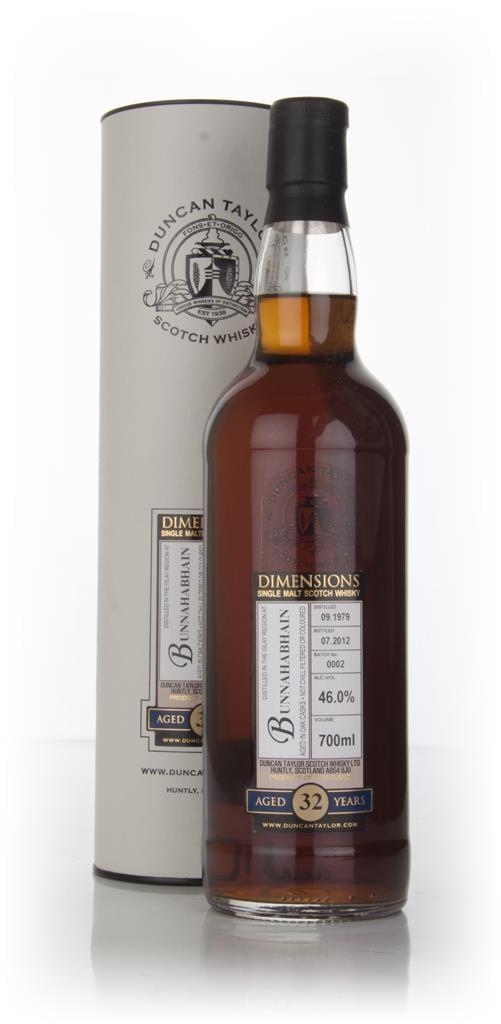 Bunnahabhain 32 Year Old 1979 - Batch 2 - Dimensions (Duncan Taylor) Single Malt Whisky