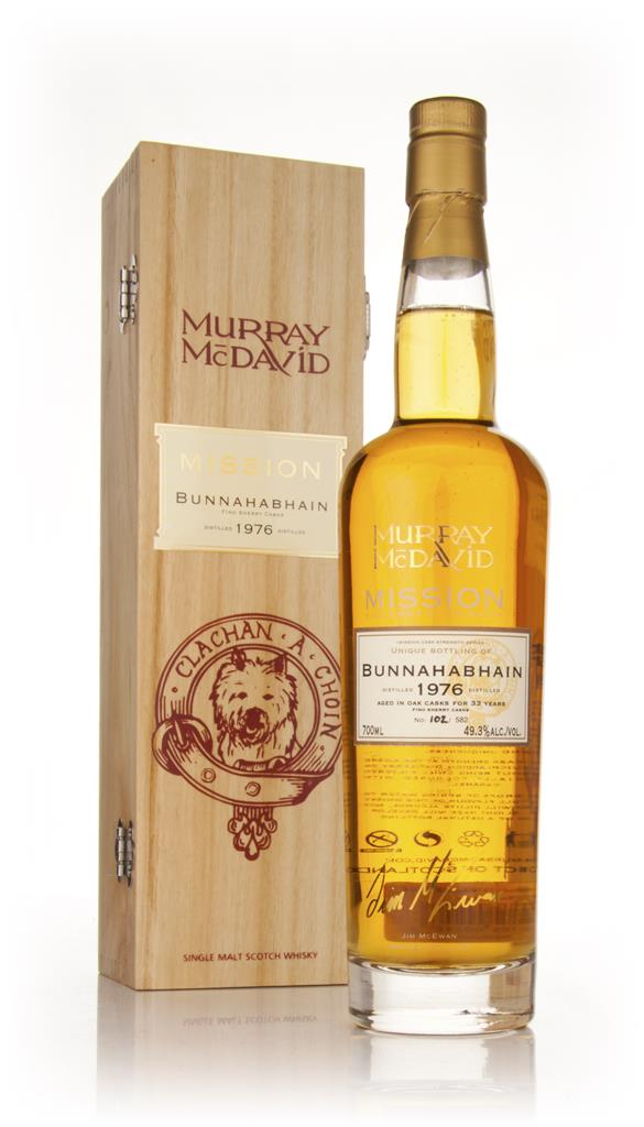 Bunnahabhain 33 Year Old 1976 - Mission (Murray McDavid) Single Malt Whisky
