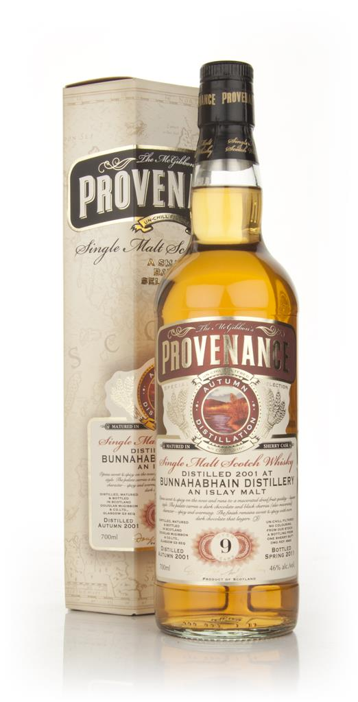 Bunnahabhain 9 Year Old 2001 - Provenance (Douglas Laing) Single Malt Whisky