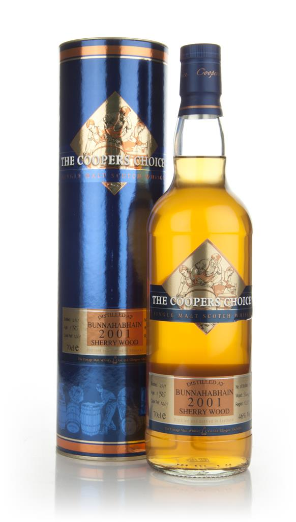 Bunnahabhain 9 Years Old 2001 Sherrywood - Coopers Choice Single Malt Whisky