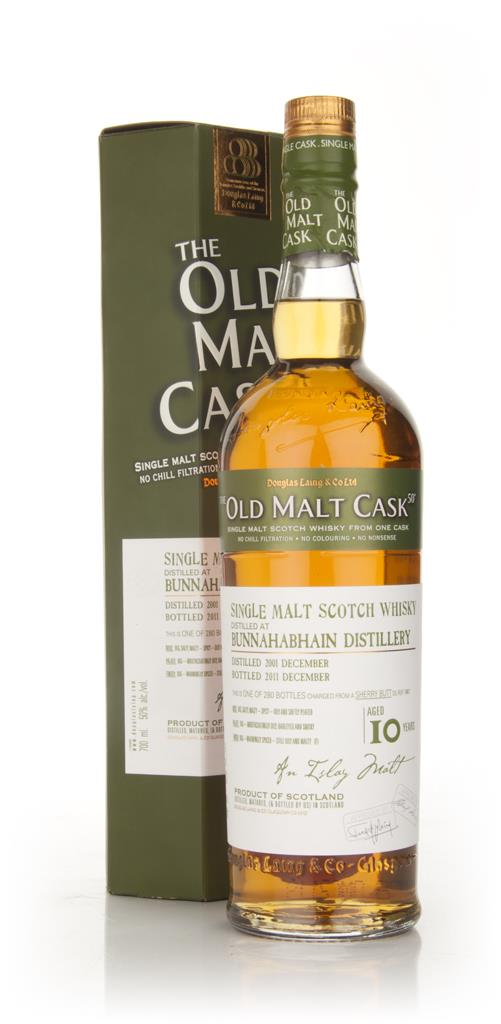 Bunnahabhain 10 Year Old 2001 Sherry - Old Malt Cask (Douglas Laing) Single Malt Whisky