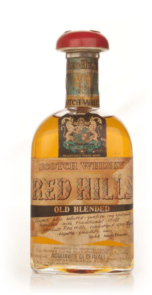Red Hills Old Blended Scotch Whisky - 1970s Blended Whisky