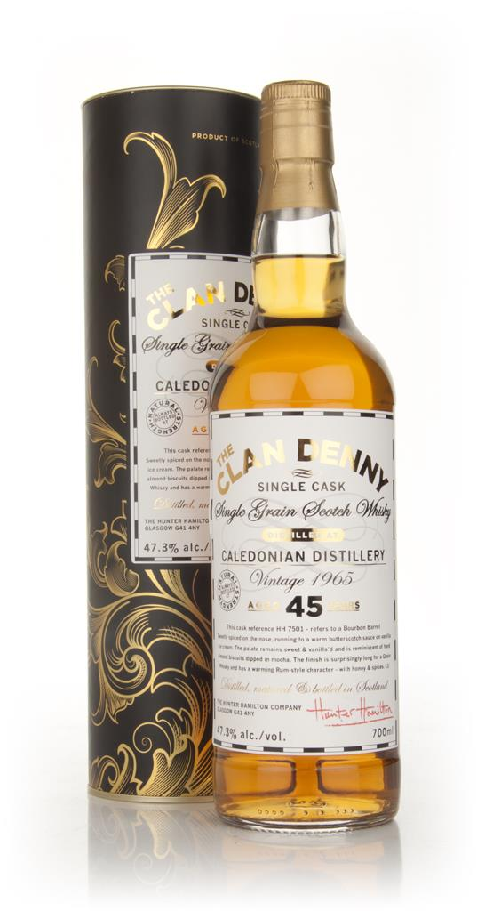 Caledonian 45 Year Old 1965 - The Clan Denny (Douglas Laing) Single Grain Whisky