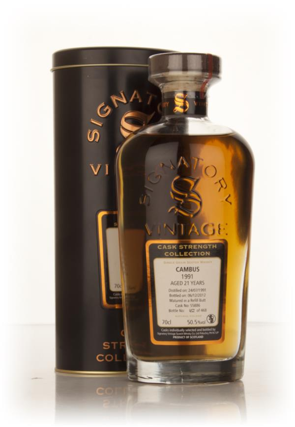 Cambus 21 Year Old 1991 (cask 55886) - Cask Strength Collection (Signa Grain Whisky