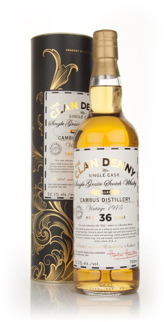 Cambus 36 Year Old 1975 - The Clan Denny (Douglas Laing) Single Grain Whisky