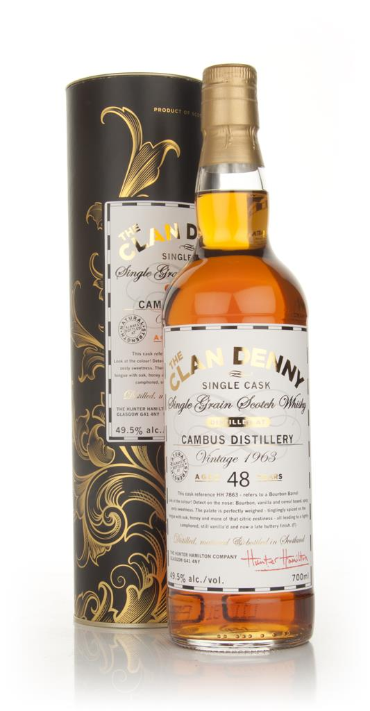 Cambus 48 Year Old 1963 - The Clan Denny (Douglas Laing) Single Grain Whisky
