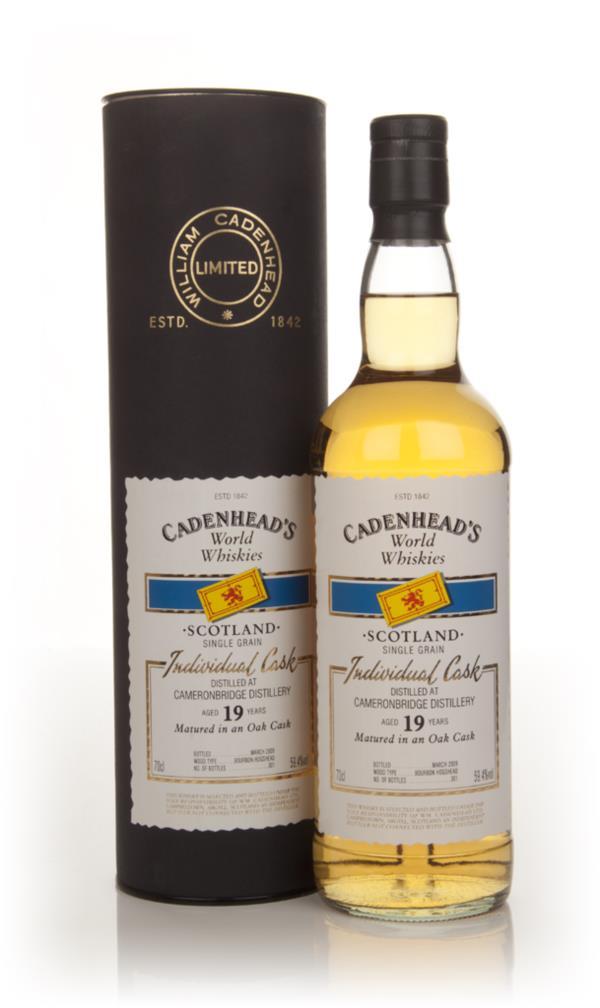 Cameronbridge 19 Year Old - World Whiskies (WM Cadenhead) Grain Whisky