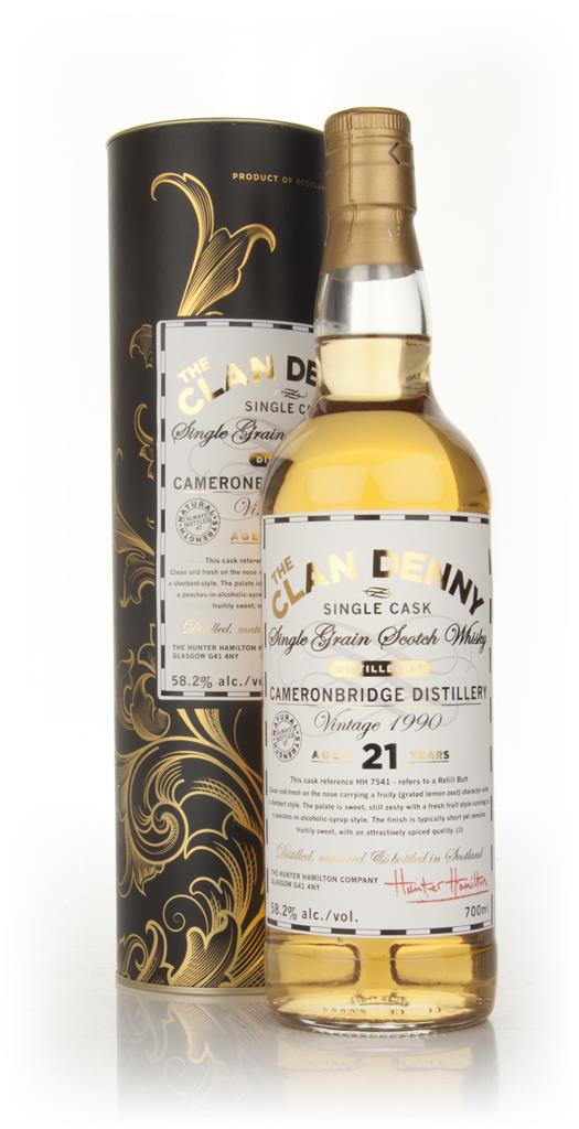 Cameronbridge 21 Year Old 1990 - The Clan Denny (Douglas Laing) Single Grain Whisky